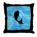 The Rogue Mermaid Throw Pillow