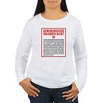 Genealogicus Vulgaris Women's Long Sleeve T-Shirt