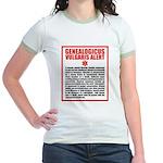 Genealogicus Vulgaris Jr. Ringer T-Shirt