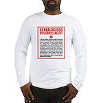 Genealogicus Vulgaris Long Sleeve T-Shirt