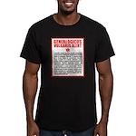Genealogicus Vulgaris Men's Fitted T-Shirt (dark)
