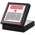 Genealogicus Vulgaris Keepsake Box