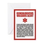 Genealogicus Vulgaris Greeting Cards (Pk of 10)