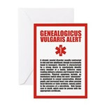Genealogicus Vulgaris Birthday Card