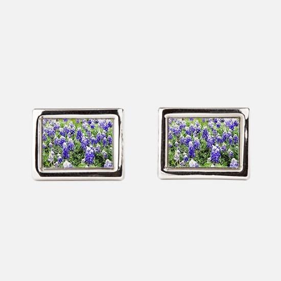 Wildflowers Rectangular Cufflinks