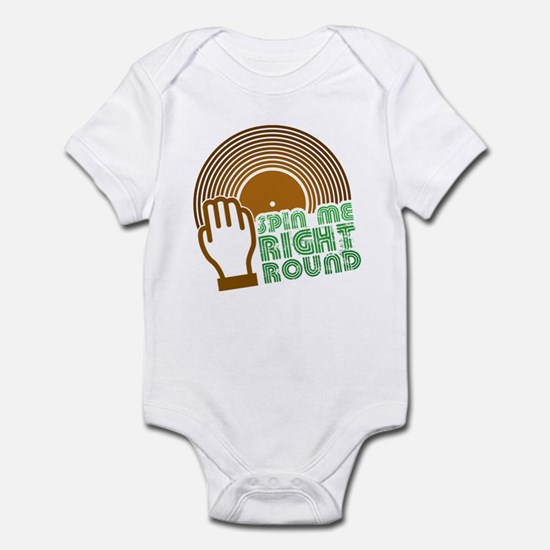 Spin Me Right Round Infant Bodysuit