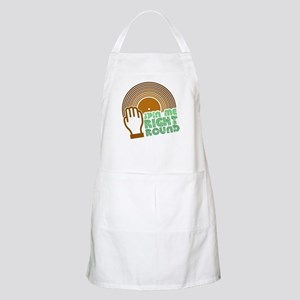 Spin Me Right Round BBQ Apron