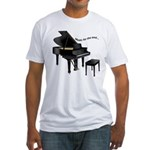 Music for the Soul Fitted T-Shirt