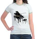 Music for the Soul Jr. Ringer T-Shirt