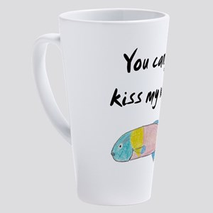 kiss my wrasse 17 oz Latte Mug