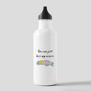 kiss my wrasse Water Bottle