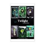 Twilight Blue Mini Poster Print