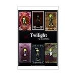 Twilight Red Mini Poster Print