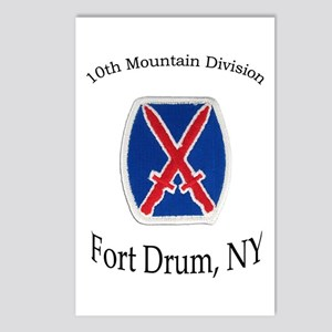 10TH MOUNTIAN DIV Postcards (Package of 8)
