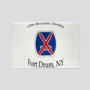 10TH MOUNTIAN DIV Rectangle Magnet