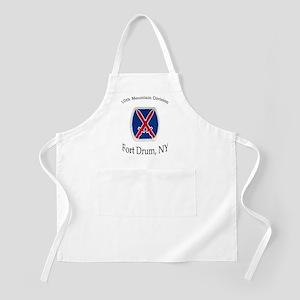 10TH MOUNTIAN DIV BBQ Apron