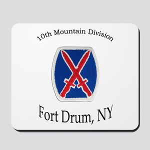 10TH MOUNTIAN DIV Mousepad