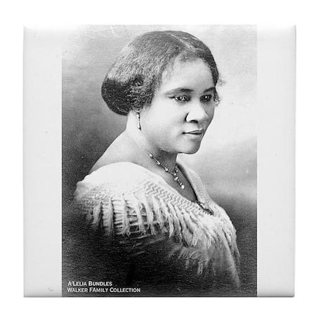 Madame C.J. Walker Tile Coaster