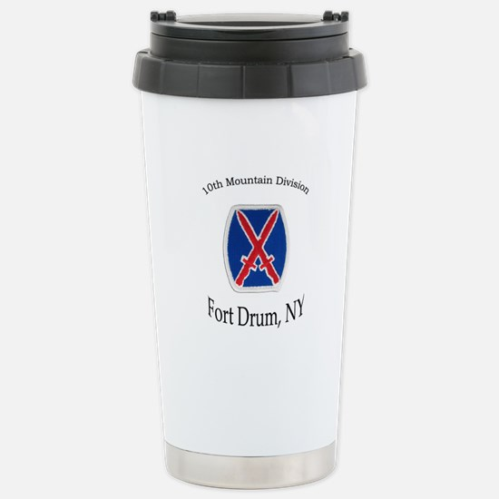 10TH MOUNTIAN DIV Stainless Steel Travel Mug