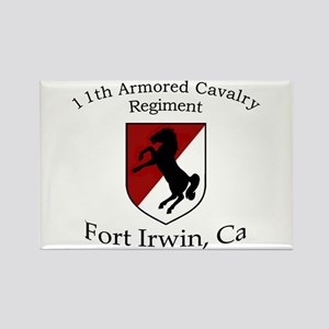 11TH ARMORED CAVALRY REGIMENT Rectangle Magnet