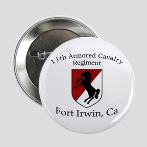 "11TH ARMORED CAVALRY REGIMENT 2.25"" Button"