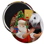 Santa/Horse (Ar-W) Magnet