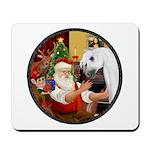 Santa/Horse (Ar-W) Mousepad