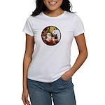 Santa/Horse (Ar-W) Women's T-Shirt