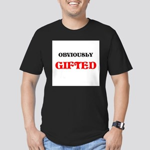 GIFTED AND MODEST TOO Men's Fitted T-Shirt (dark)