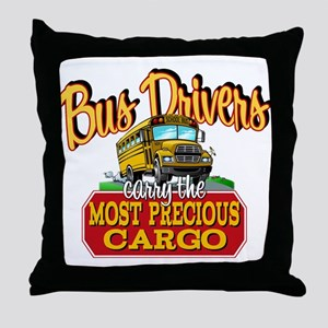 Most Precious Cargo Throw Pillow