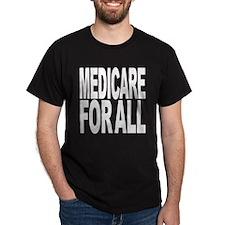 Medicare For All Dark T-Shirt