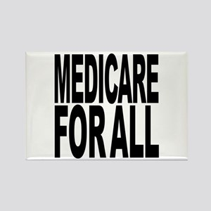 Medicare For All Rectangle Magnet
