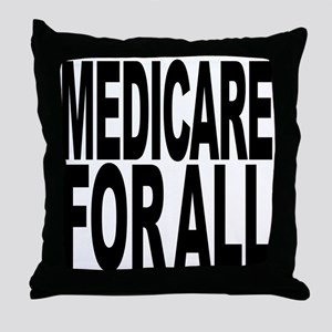 Medicare For All Throw Pillow