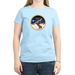 XmsSunrs/Horse (Ar-Br) Women's Light T-Shirt