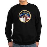 XmsSunrs/Horse (Ar-Br) Sweatshirt (dark)