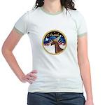 XmsSunrs/Horse (Ar-Br) Jr. Ringer T-Shirt