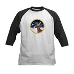 XmsSunrs/Horse (Ar-Br) Kids Baseball Jersey