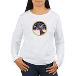XmsSunrs/Horse (Ar-Br) Women's Long Sleeve T-Shirt