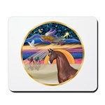 XmsStar/Horse (Ar-Br) Mousepad