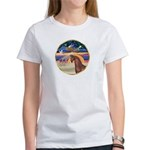 XmsStar/Horse (Ar-Br) Women's T-Shirt