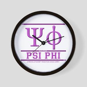 Psi Phi Wall Clock