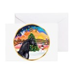 XmsMusic2/Horse (Ar-blk) Greeting Cards (Pk of 10)