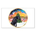 XmsMusic2/Horse (Ar-blk) Rectangle Sticker
