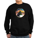 XmsMusic2/Horse (Ar-blk) Sweatshirt (dark)