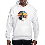XmsMusic2/Horse (Ar-blk) Hooded Sweatshirt