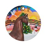 XmsMusic2/Horse (Ar-Br) Ornament (Round)