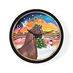 XmsMusic2/Horse (Ar-Br) Wall Clock