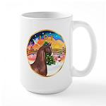 XmsMusic2/Horse (Ar-Br) Large Mug