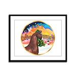 XmsMusic2/Horse (Ar-Br) Framed Panel Print