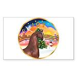 XmsMusic2/Horse (Ar-Br) Rectangle Sticker